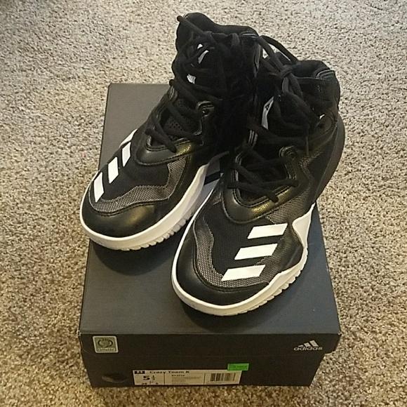 Adidas zapatos Crazy Team K chicos 55 poshmark